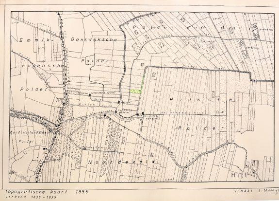 Kadastrale kaart 1855