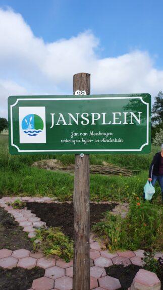 Naambord Jansplein