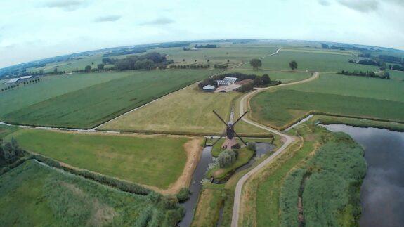 Dronefoto Ivo van Sandick